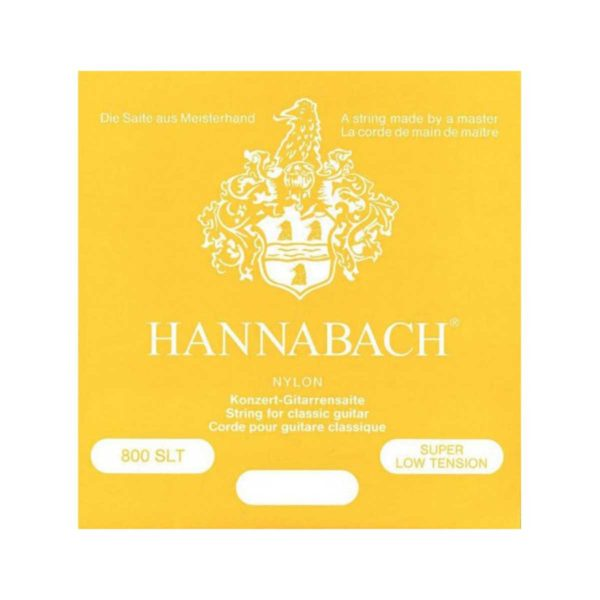 HANNABACH Set Corde per chitarra classica 815SLT Super Low Tension Silver Special