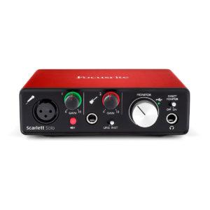 INTERACCIA USB SCARLETT SOLO 2' GENERAZIONE GFO02001196