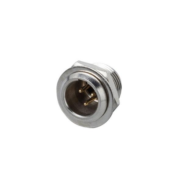 Mini cannon 3 poli maschio pannello BESPECO XLR3MPS