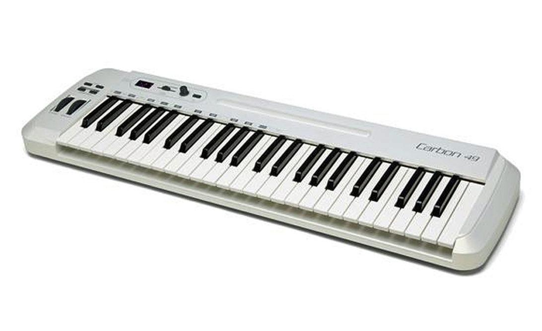 Tastiera midi carbon 49