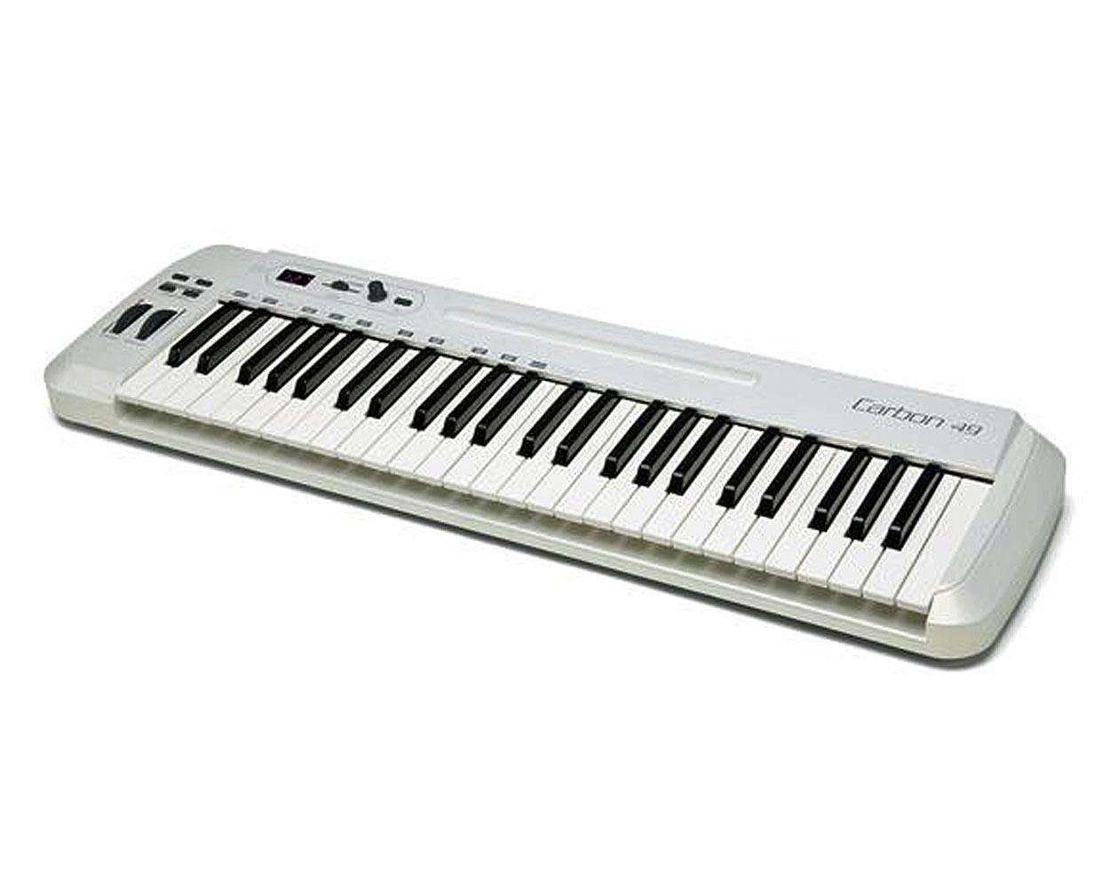 Tastiera MIDI Samson Modello Carbon 49 tasti. (USATO)