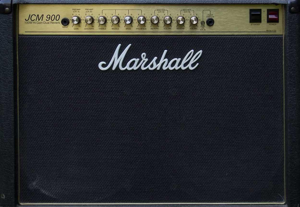 Amplificatore Marshall JCM 900 Combo Modello 4102 (USATO)