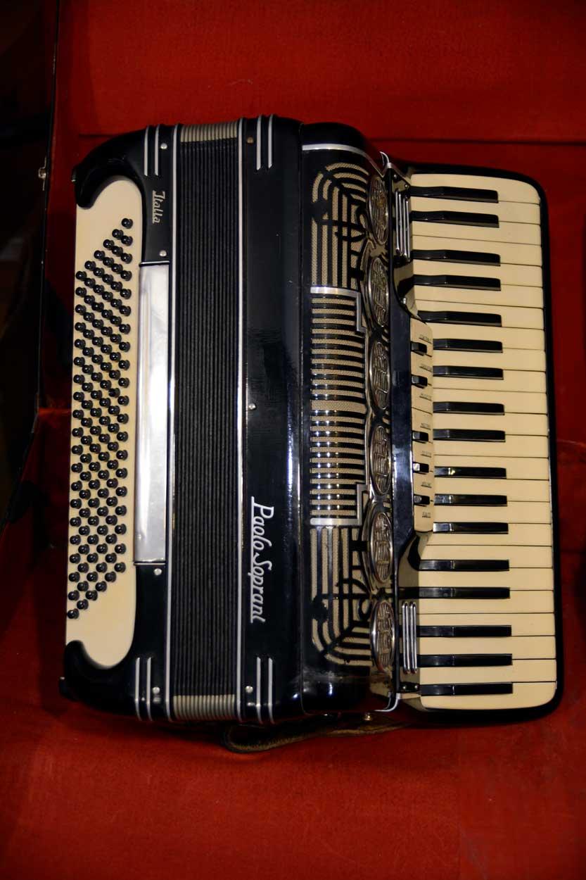 Fisarmonica Paolo Soprani anni 60 (USATO)