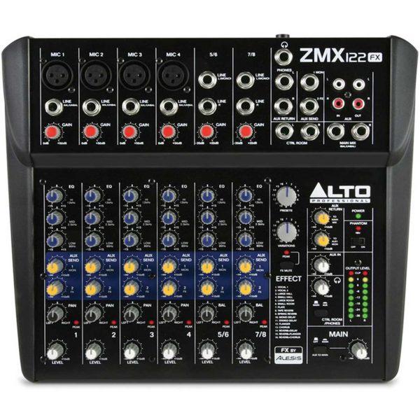 Mixer Alto ZMX 122fx